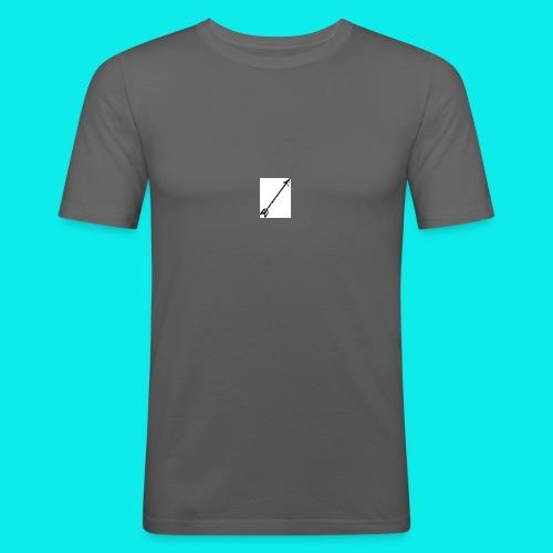Pfeil - Männer Slim Fit T-Shirt