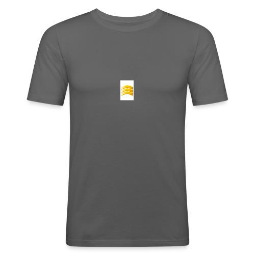Wit en black - slim fit T-shirt