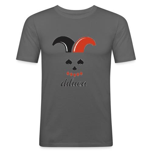diluca's clown - Mannen slim fit T-shirt