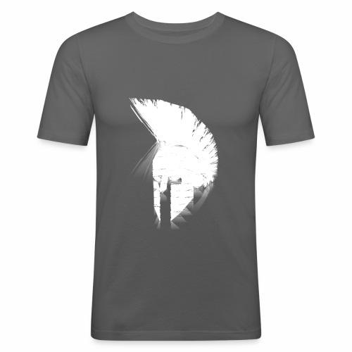 De LiTi-Sparta Weiß - Männer Slim Fit T-Shirt
