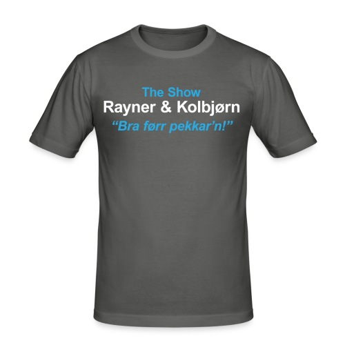 The Show R K - Slim Fit T-skjorte for menn