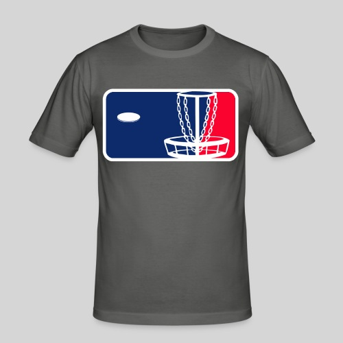 Major League Frisbeegolf - Miesten tyköistuva t-paita
