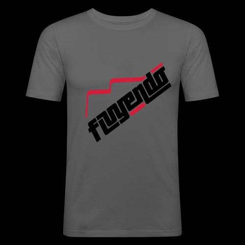 fluyendo logo - Men's Slim Fit T-Shirt