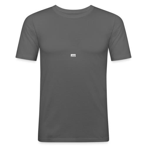 Anrufe-png - Männer Slim Fit T-Shirt