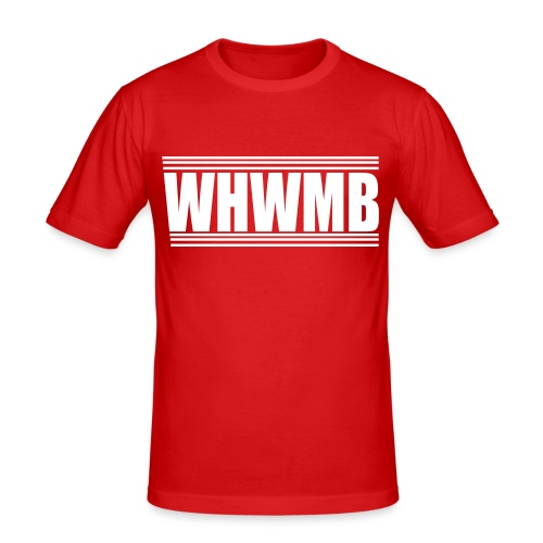 WHWMB - T-shirt près du corps Homme