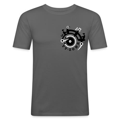 TurnTable Zone 3 - Männer Slim Fit T-Shirt