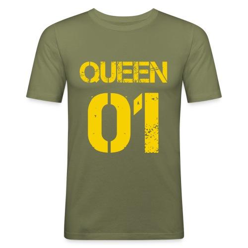 Queen - Obcisła koszulka męska
