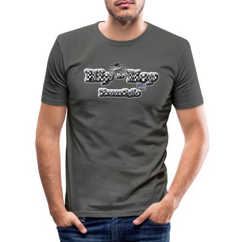 Fherry-Hio Hop - Maglietta aderente da uomo