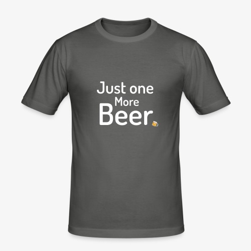 One more beer - Mannen slim fit T-shirt