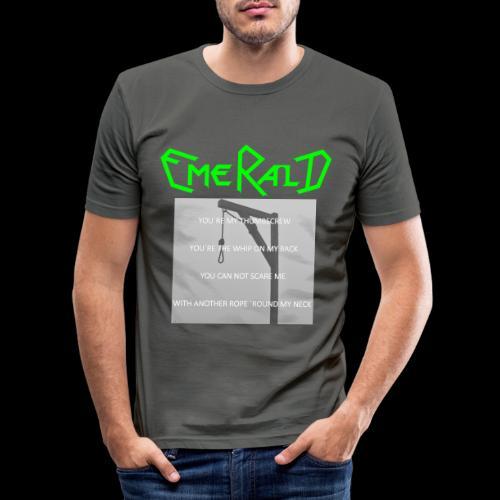 Emerald - Männer Slim Fit T-Shirt