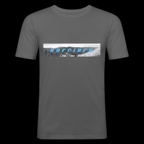 barriers - Männer Slim Fit T-Shirt