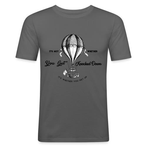 balon - Obcisła koszulka męska