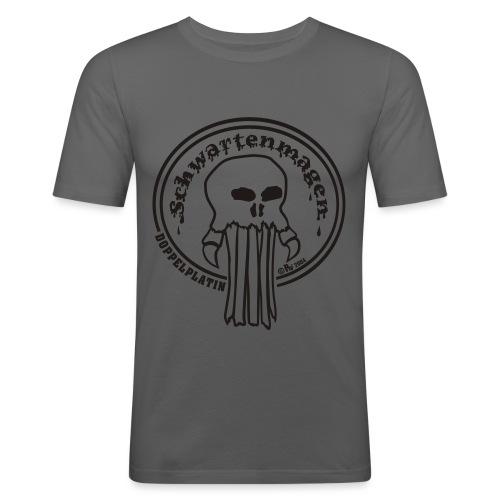 SWM Doppelplatin - Männer Slim Fit T-Shirt