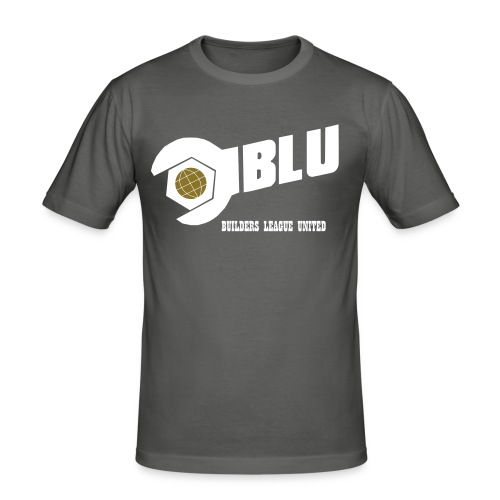 Team Blu Vector - Men's Slim Fit T-Shirt