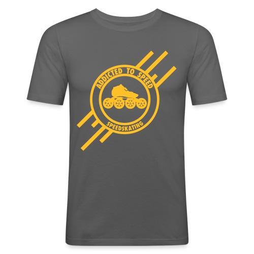 addictedfinal1c - Männer Slim Fit T-Shirt