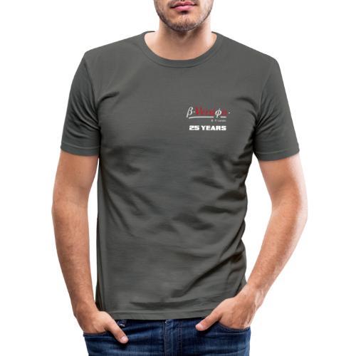 Beta- Version & Friends 25 Years - Männer Slim Fit T-Shirt