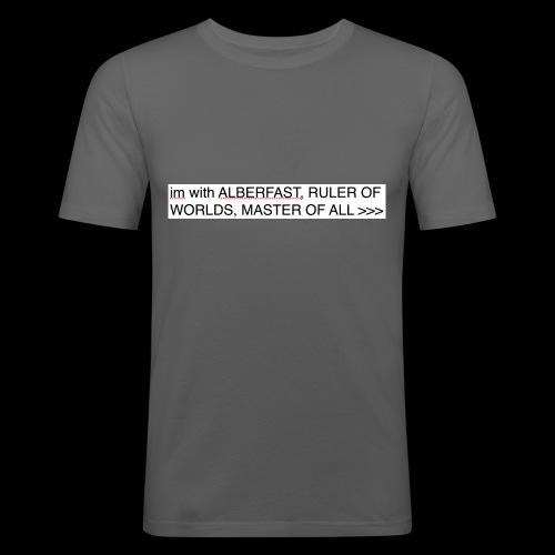 PRAISE LORD ALBERFAST - Men's Slim Fit T-Shirt