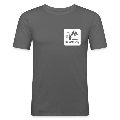 campsticker qua shirt - Männer Slim Fit T-Shirt