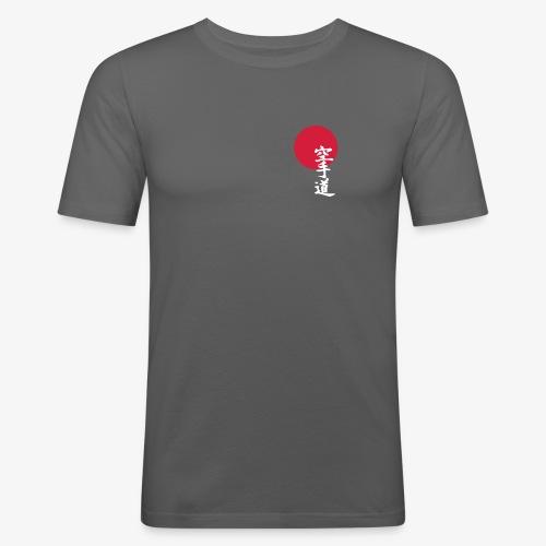 Kenseikan Logo - Männer Slim Fit T-Shirt