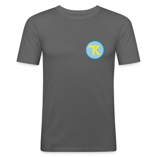 tk ohne text - Männer Slim Fit T-Shirt