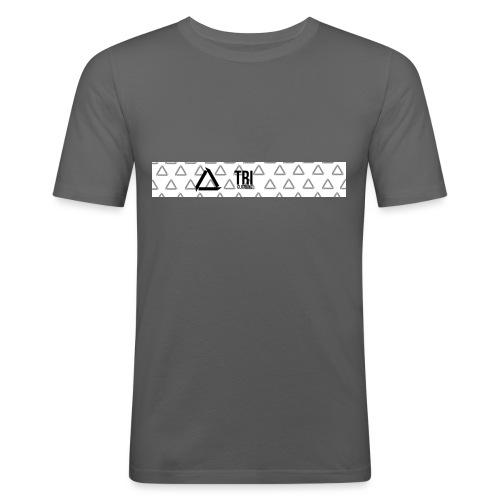 Tri Clothing Long Logo - Slim Fit T-skjorte for menn