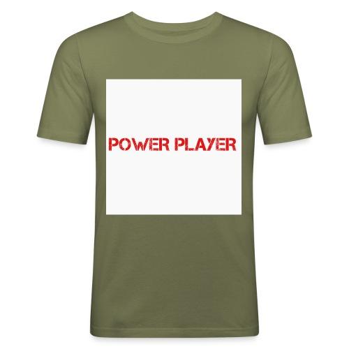 Linea power player - Maglietta aderente da uomo