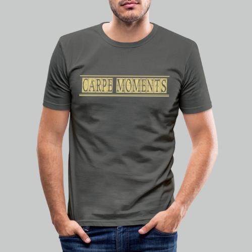 Carpe Moments Carpe Diem - Men's Slim Fit T-Shirt