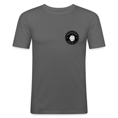 Braufreunde Berlin e.V. w - Männer Slim Fit T-Shirt