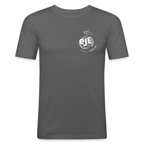 EJE invertiert eps 13 1 x 17 2 - Männer Slim Fit T-Shirt