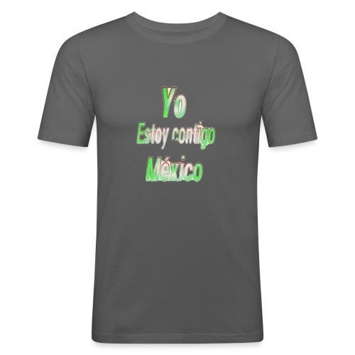 Yo Estoy contigo Mexico - Camiseta ajustada hombre