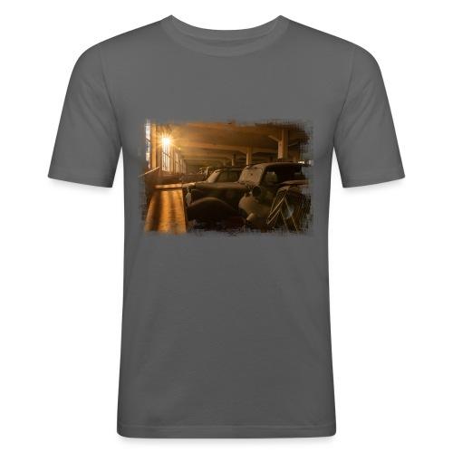 Olditimer Sunset - Männer Slim Fit T-Shirt