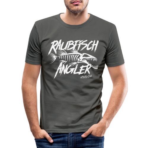 Raubfischangler - Männer Slim Fit T-Shirt