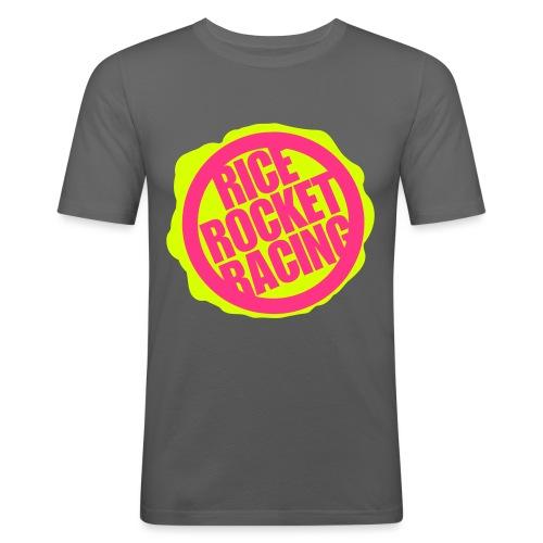 RiceRocketRacingDuo - Miesten tyköistuva t-paita