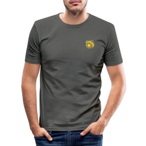 TurnTable Zone 2 - Männer Slim Fit T-Shirt
