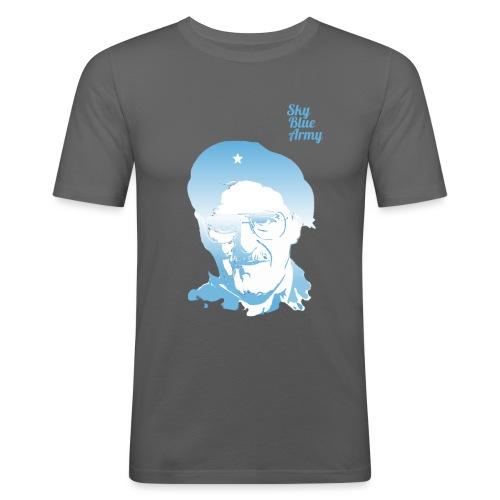 Jimmy's Sky Blue Army - Men's Slim Fit T-Shirt