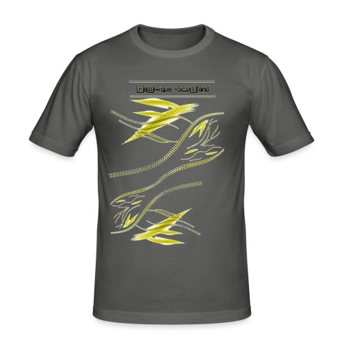 Waveflow - Men's Slim Fit T-Shirt