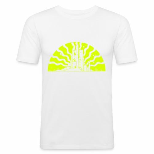 Fairytale Castle Sunrise - Männer Slim Fit T-Shirt