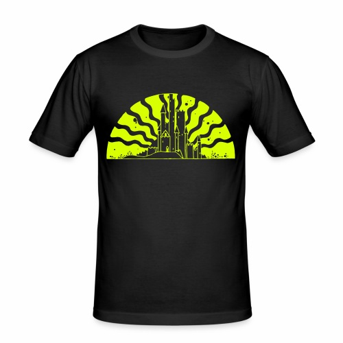 Fairytale Castle Sunrise - Männer Slim Fit T-Shirt