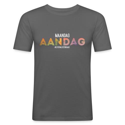 AANdag - Mannen slim fit T-shirt
