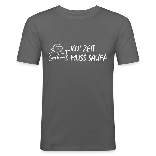 KoiZeit Saufa - Männer Slim Fit T-Shirt