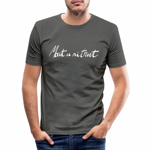 Moeit u ni trut - slim fit T-shirt