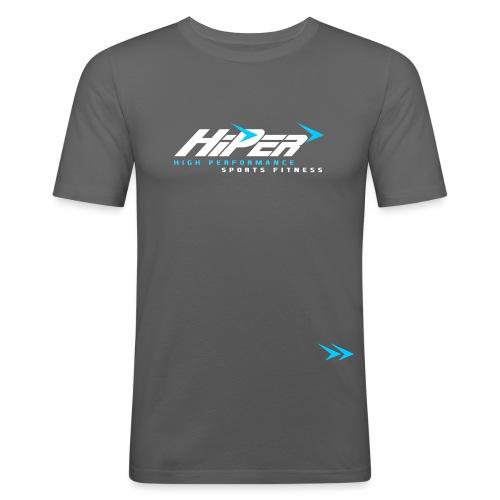 HiPer-Logo-Main - Men's Slim Fit T-Shirt