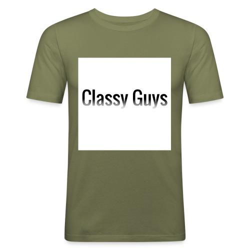 Classy Guys Simple Name - Men's Slim Fit T-Shirt