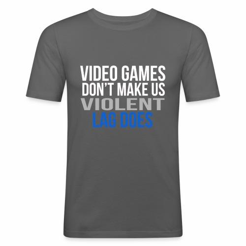 Video games - Miesten tyköistuva t-paita