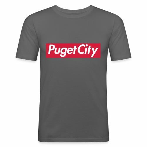 PugetCity - T-shirt près du corps Homme