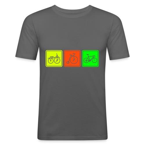 Bike Evolution - Men's Slim Fit T-Shirt