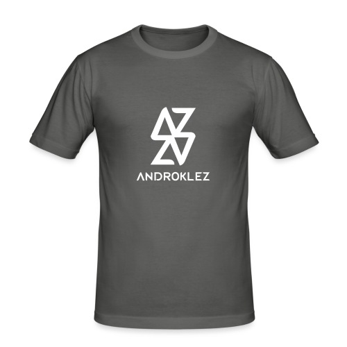 Androklez Logo - Men's Slim Fit T-Shirt