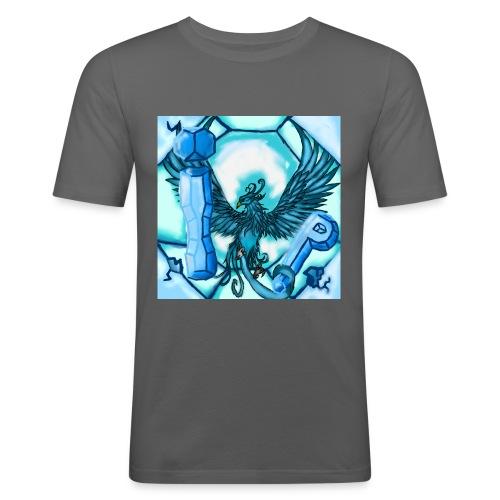 Logo du serveur ! - T-shirt près du corps Homme