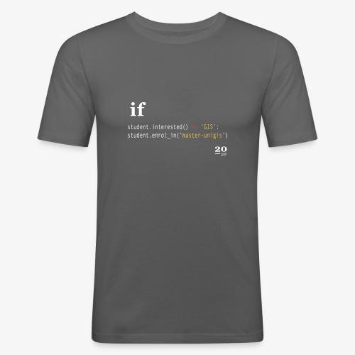 python - Camiseta ajustada hombre