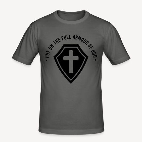 EPHESIANS 6:10 - Men's Slim Fit T-Shirt